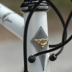 Casati Campagnolo 80th Anniversary Limited Edition bike - head tube