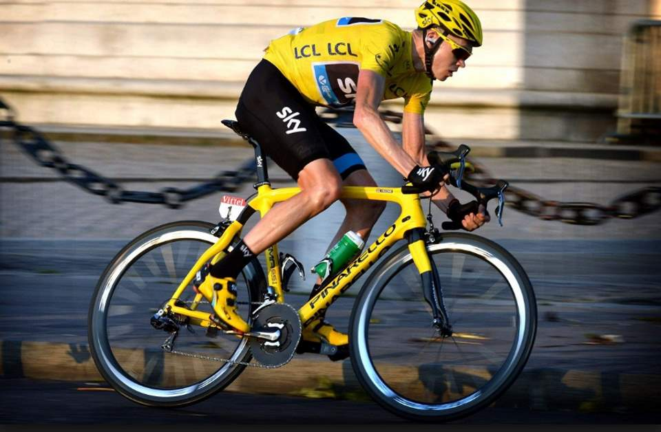 Gallery of Vélo d'Or winners (2010-2019): Chris Froome at Tour de France 2013