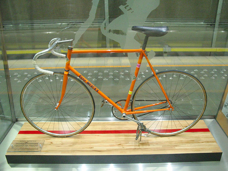 Most iconic bikes in cycling history: Eddy Merckx's 1972 Hour Record bike