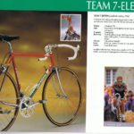 From the 1990 catalog of Eddy Merckx bikes, 7-Eleven team bike
