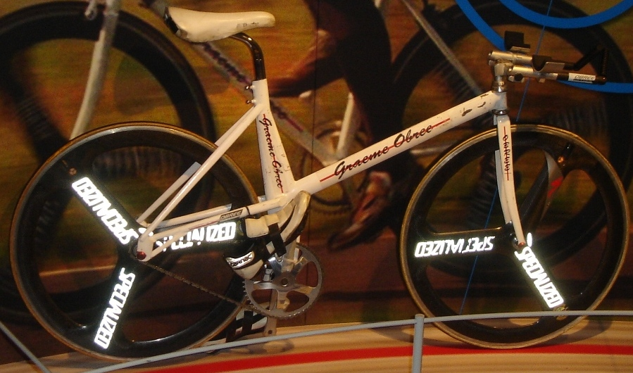 Graeme Obree's Old Faithful