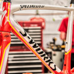 Specialized S-Works Tarmac 2014 Contador Edition Frameset, a closer view
