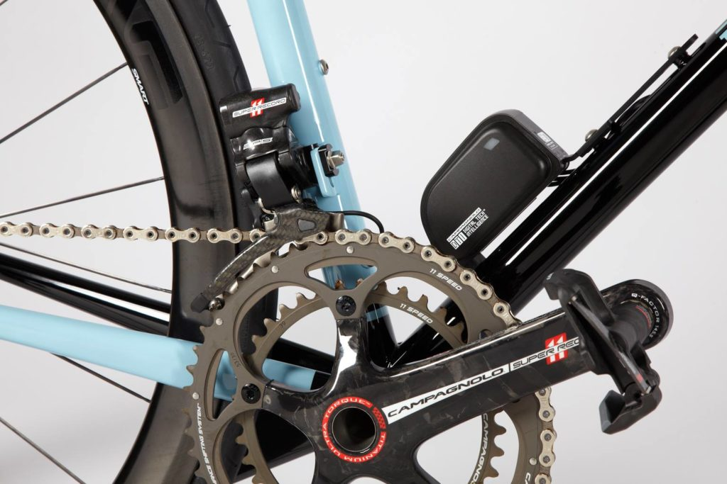Breadwinner Lolo with Campagnolo Super Record EPS, crankset and battery