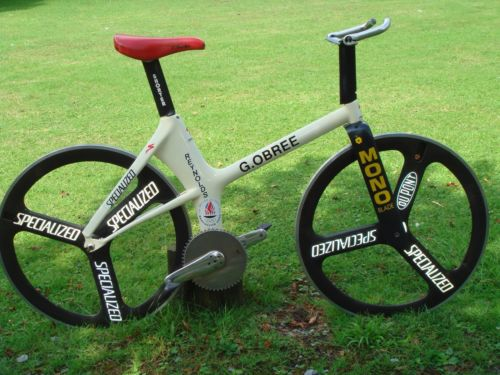 Graeme Obree hour record attempt bike