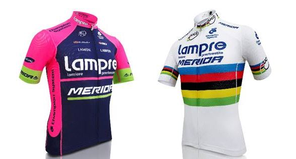 Lampre-Merida 2014 jerseys