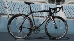 Team Sp-Tableware's Eddy Merckx bike equipped with Campagnolo