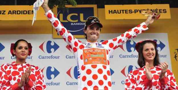 Samuel Sanchez, 2011 Tour de France King of The Mountains (featured)