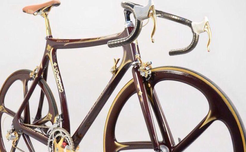 Colnago C35 with Campagnolo Super Record gold