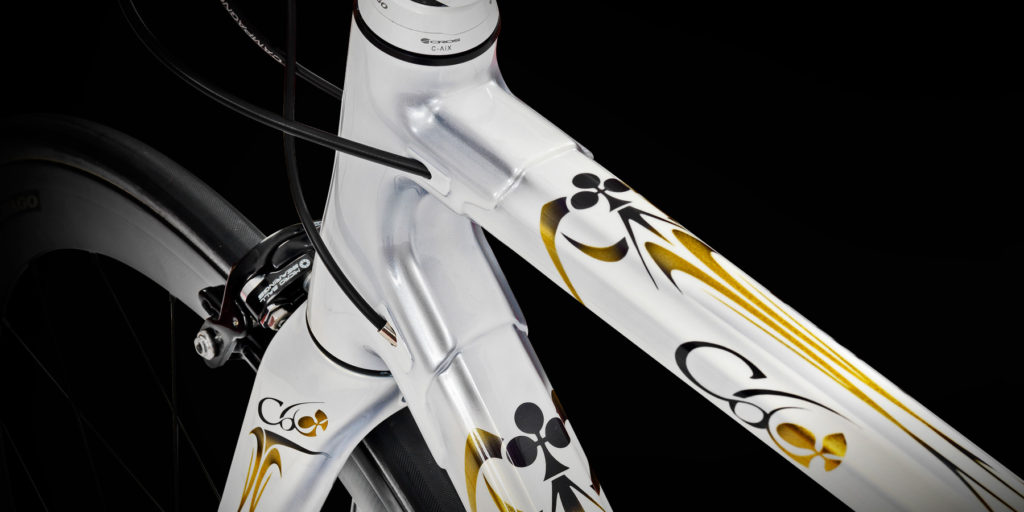 Colnago C60 Classic - internal cable routing