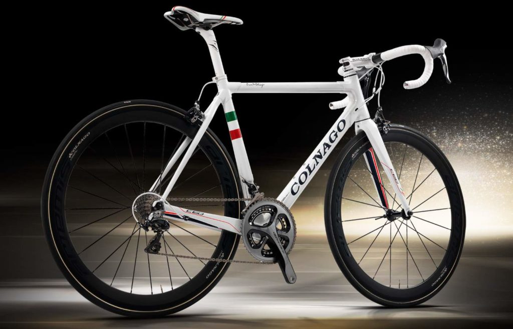 Colnago C60 Italia (from back)