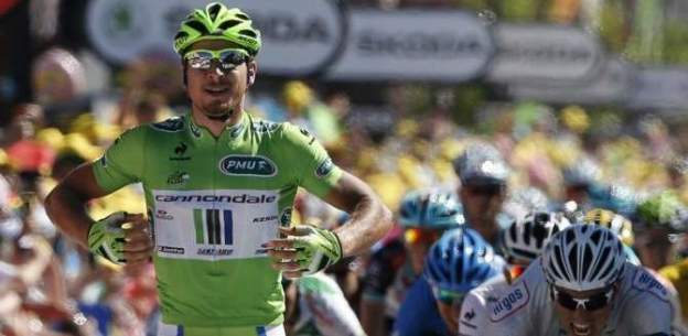 Peter Sagan wins Tour de France 2013 stage 7