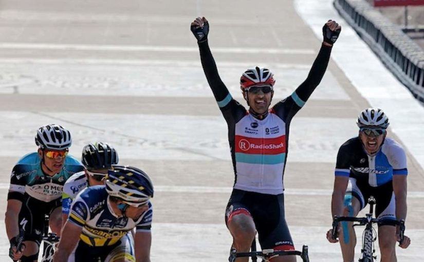 Fabian Cancellara wins Paris-Roubaix 2013