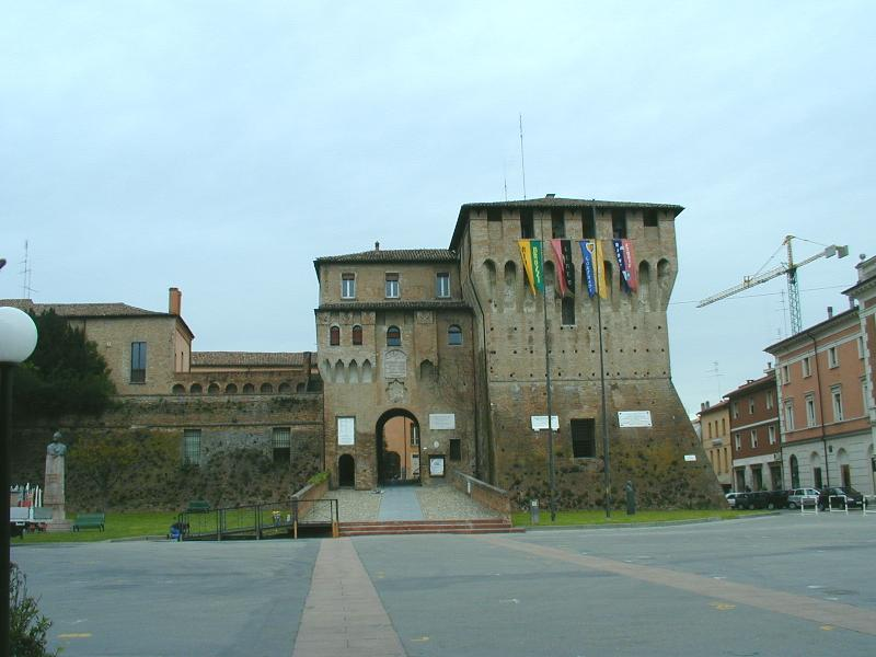 The Castle of Lugo