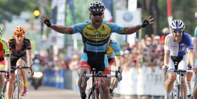 Eric Marcotte (SmartStop Pro Cycling) wins 2014 USA road championship