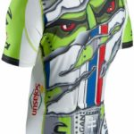 Peter Sagan's custom jersey for Tour of California