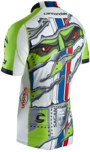 Peter Sagan's new jersey-back
