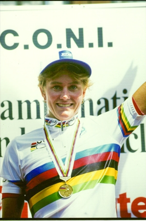 Karen Kurreck, 1994 UCI Women's Individual Time Trial champion