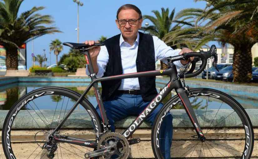 Colnago V1-r with Ernesto Colnago (featured)