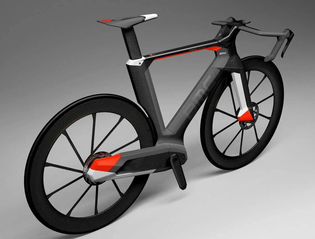 BMC Impec Concept road bike - from back