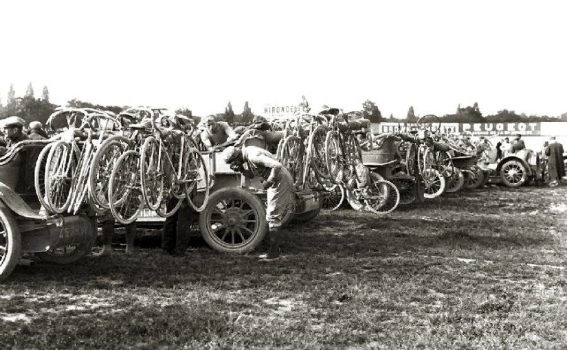 Bordeaux–Paris 1912, before the start