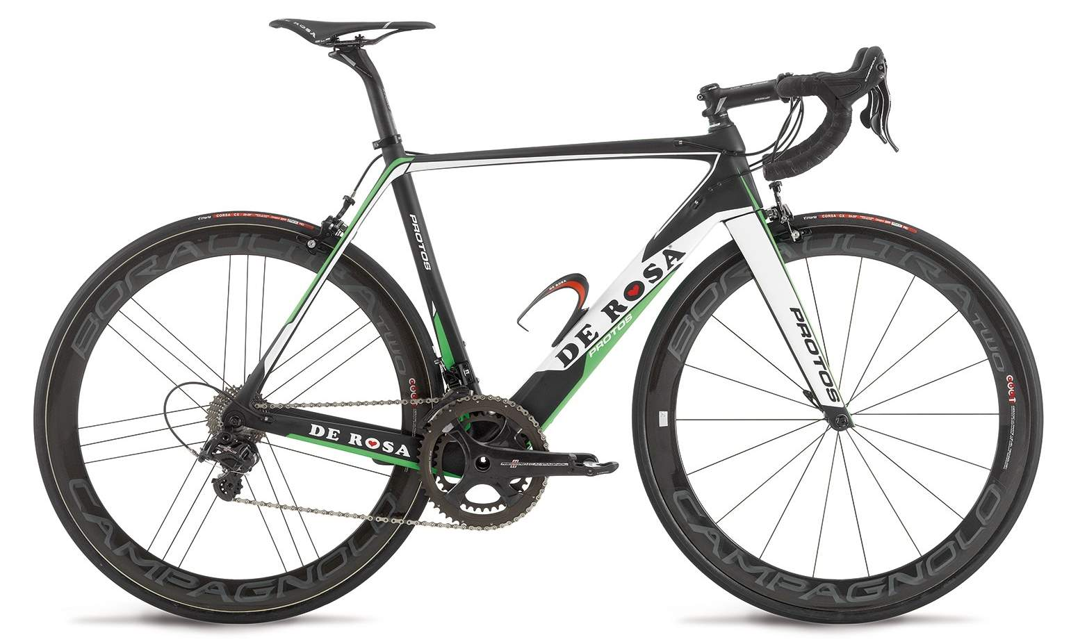 De Rosa Protos 2015 - Black-Green