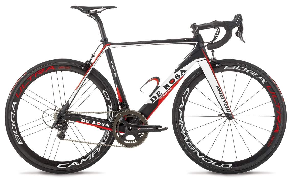 De Rosa Protos 2015 - Black-Red