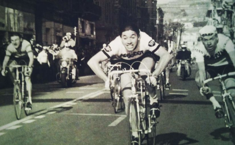 Eddy Merckx wins Milan-San Remo 1966 (featured)