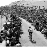 Charly Gaul on Mont Ventoux, Tour de France 1958