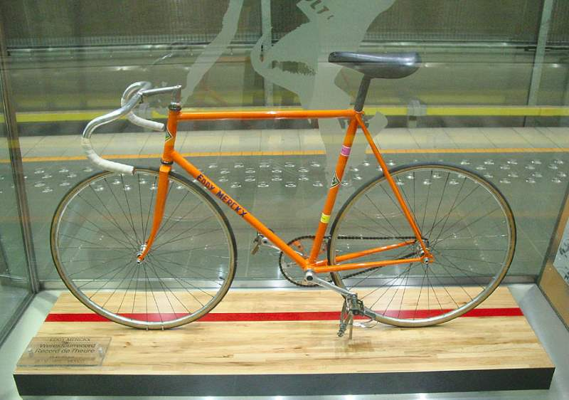 Eddy Merckx Hour Record Bike