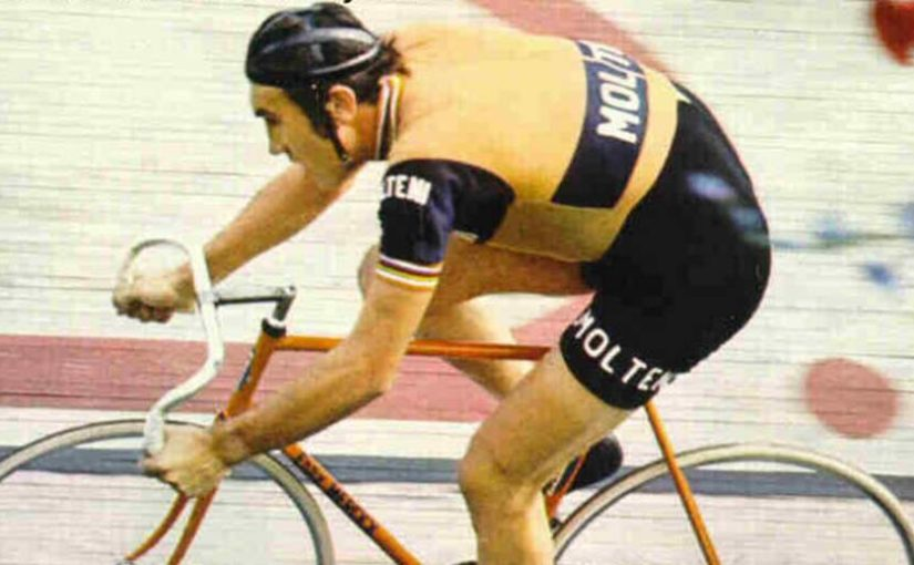 Eddy Merckx hour record, 1972