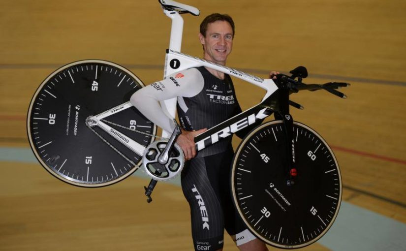 Jens Voigt's Hour Record Attempt Bike