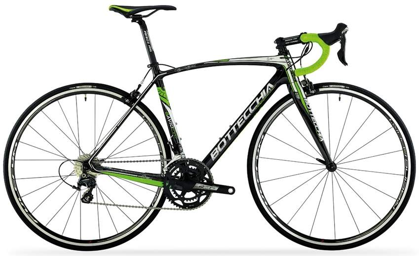 Bottecchia 8AVIO EVO 2015 carbon green fluo