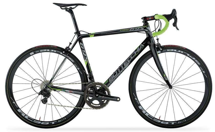 Bottecchia EMME 695 2015 Matt Carbon-Green-Fluo