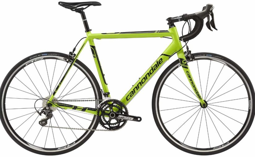 Cannondale CAAD8 2015 105 5 Green