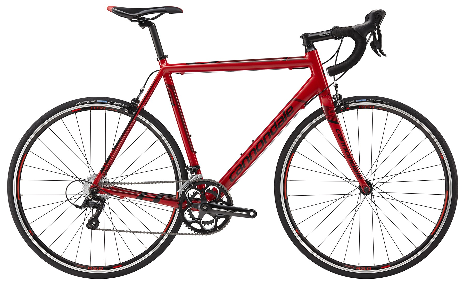 Cannondale CAAD8 2015 Sora 7 Red
