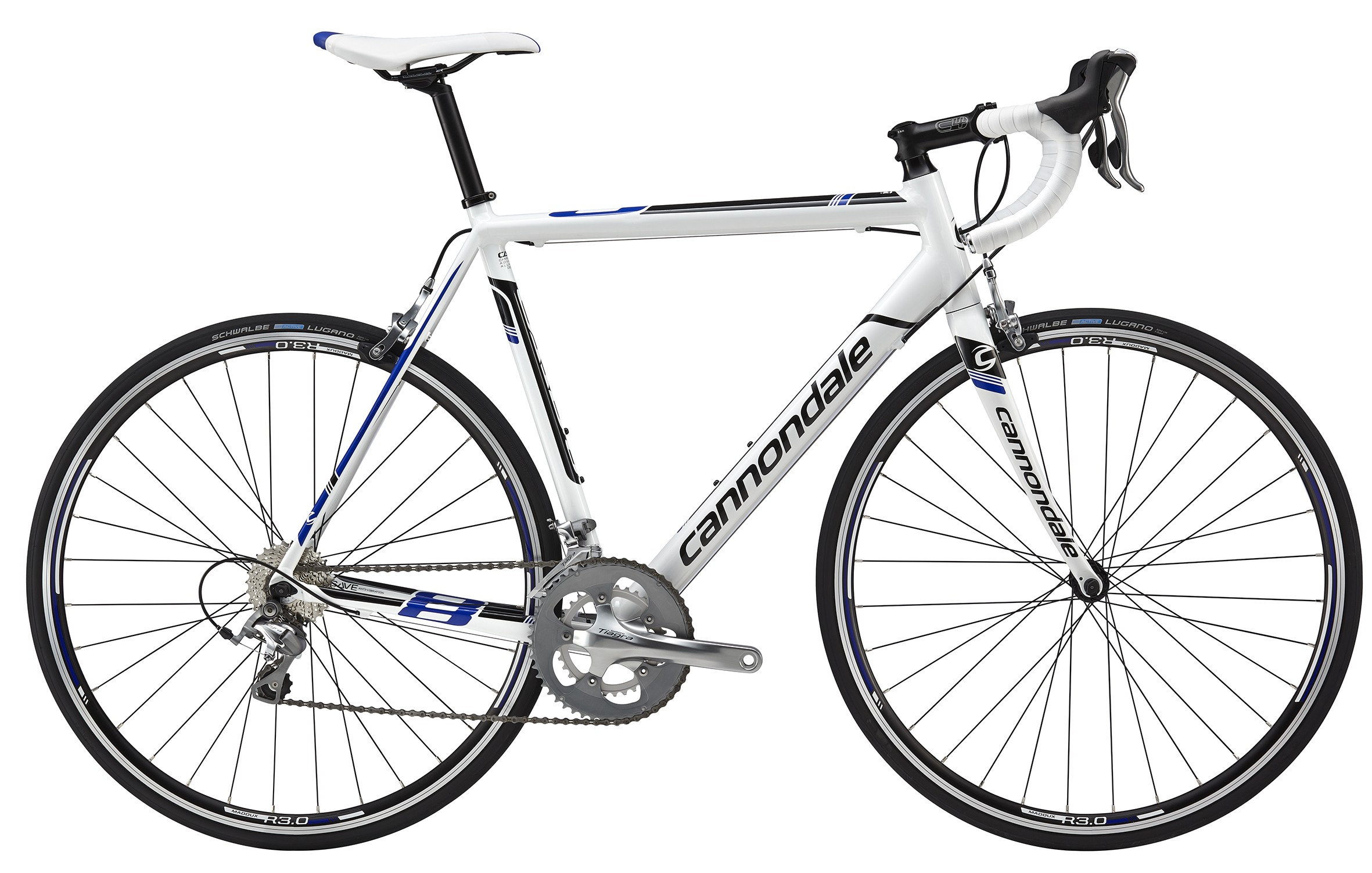 Cannondale CAAD8 2015 Tiagra 6 White