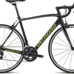 Specialized Tarmac 2015 Elite 105 (Gloss Carbon/ Charcoal/Hyper Green)