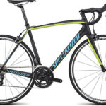 Specialized Tarmac 2015 SL4 Comp Ultegra (Satin Carbon/Hyper Green/Cyan)