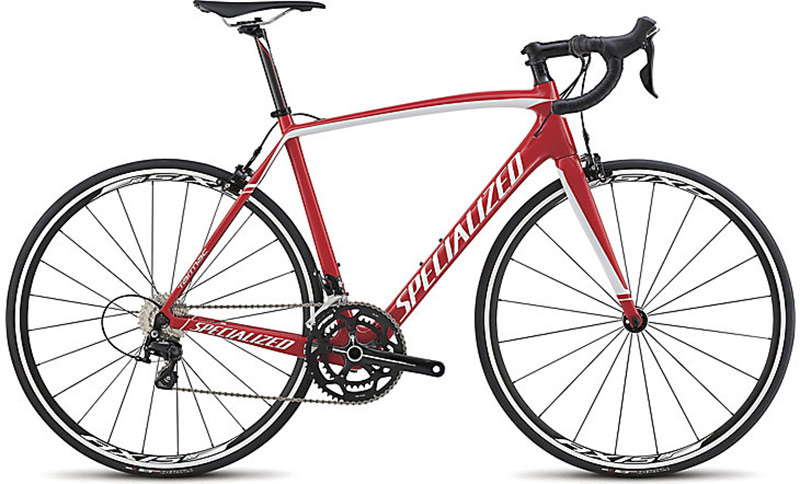 Specialized Tarmac 2015 Sport (Gloss Red/ White)