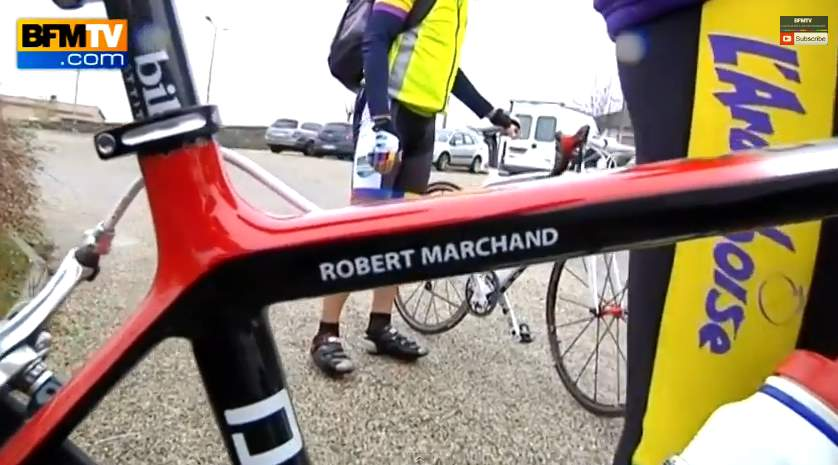 Robert Marchand's 103rd birthday bike
