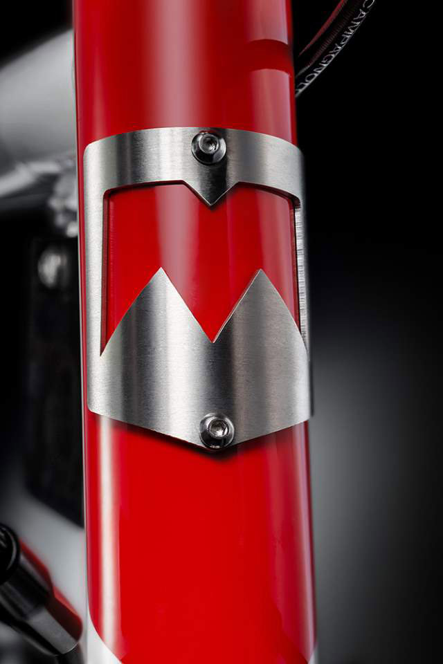 Eddy70 bike - head tube