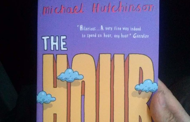 """The cover of Michael Hutchinson's """"The Hour"""" (featured image)"""