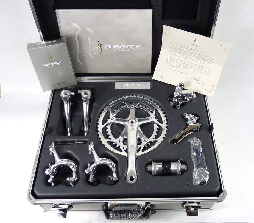 Dura-Ace history: Dura-Ace 25th Anniversary Group