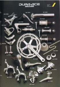 Shimano Dura-Ace 7400 series 1993 catalogue