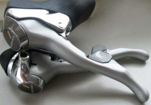 Shimano Dura-Ace 7400 dual control levers