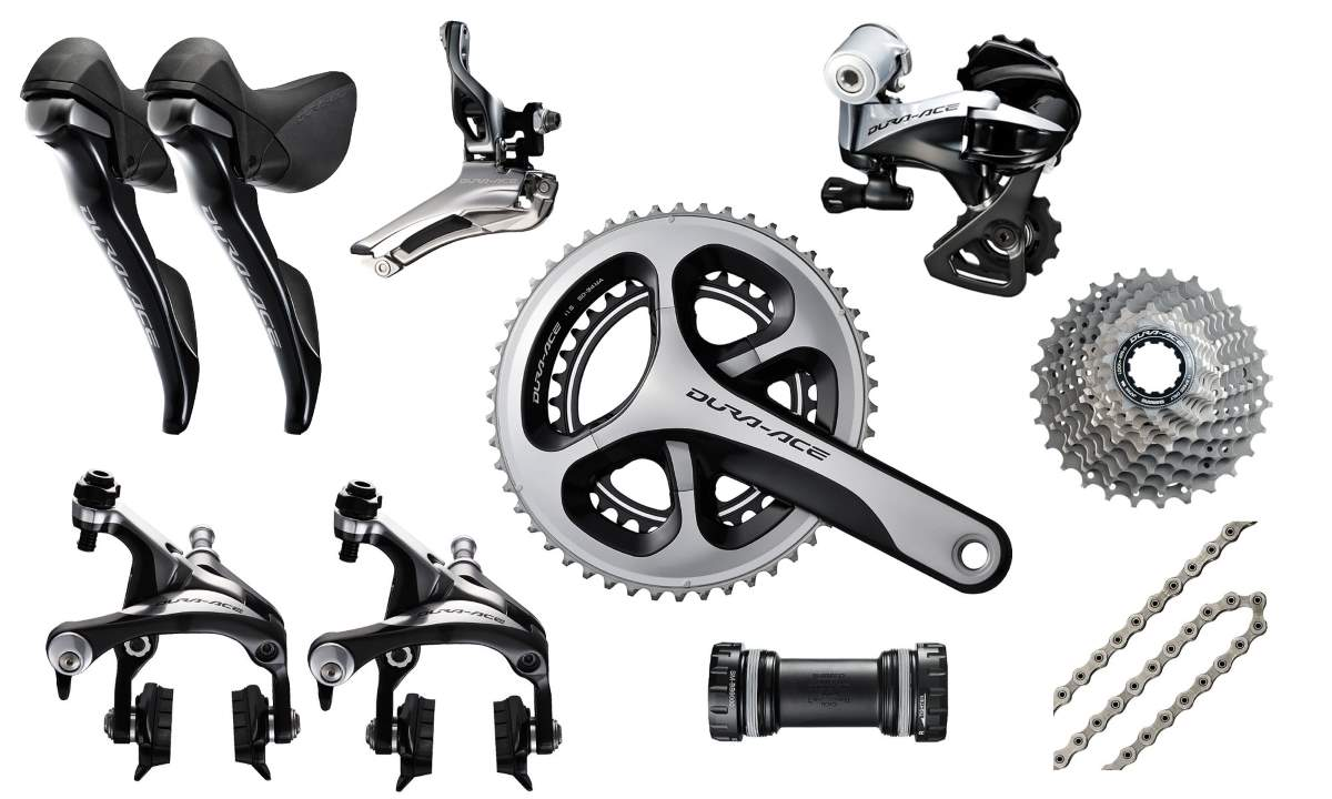 Dura-Ace history: Dura Ace 9000 group