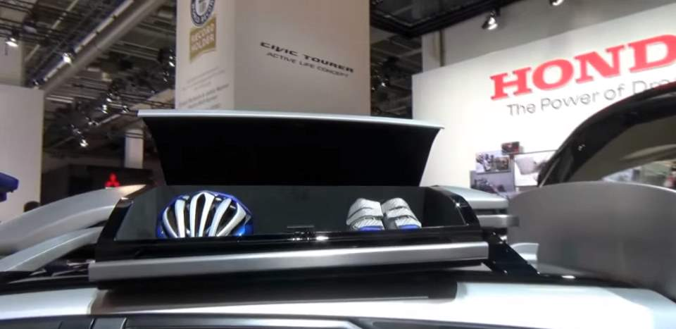 Honda Civic Tourer Active Life Concept car 2016 - roof box