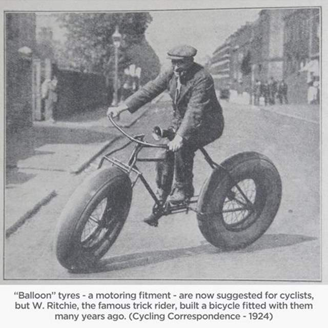 W. Ritchie, Balloon Tyres (1924)