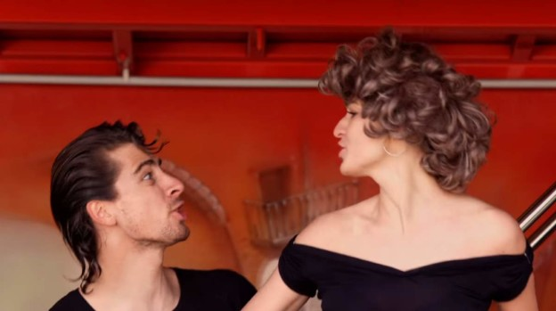 """Peter and Katarina Sagan - Grease """"You're the One That I Want"""""""