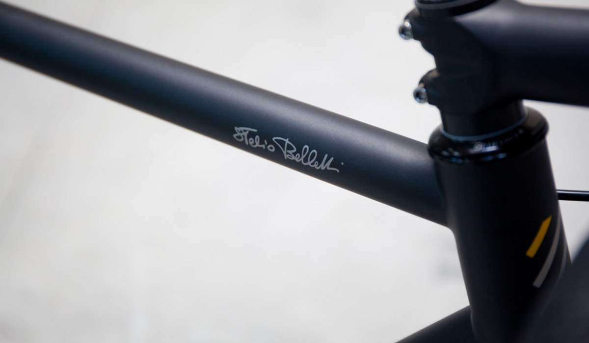 Stelbel Antenore top tube